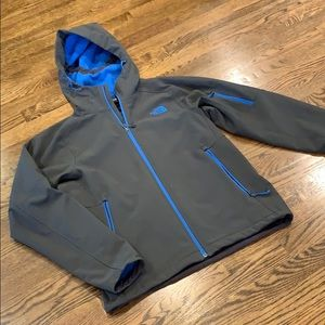 The North Face fleece lined jacket, M